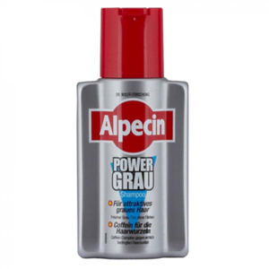 alpecin power grau gray shampoo available at alpine. Black Bedroom Furniture Sets. Home Design Ideas